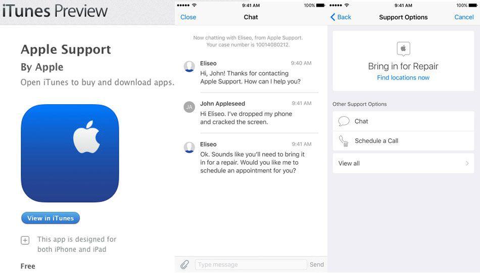 apple support genius bar chat